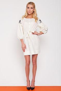 White Dress shirt, button-down dress, belted dress Button Down Dress, Belted Dress, Traditional Outfits, Cold Shoulder Dress, Dresses For Work, Shirt Dress, Women, Fashion, Moda