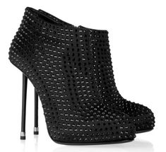 These Giuseppe Zanotti booties are a sight for sore eyes