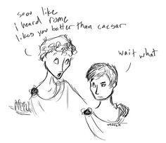 Motive discussion of cassius and brutus