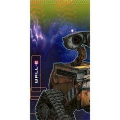 """WALL-E Plastic Tablecover by HALLMARK MARKETING CORPORATION. $8.99. WALL-E Plastic Tablecover measures 54"""" x 102"""" and features WALL-E and Eve with Outer Space in the background in colorful blues and greens."""