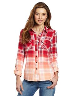 KUT from the Kloth Women's Ian Plaid Top | Traveling Of Life#fashion #women #bags #shoes #clothing
