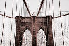 Aesthete Label love- Brooklyn Bridge, New York City
