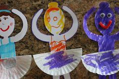 Playing House: Dancing Ballerinas - Ella will LOVE these!