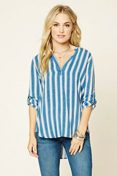 Contemporary Open-Shoulder Top | Forever 21 - 2000199252