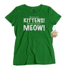 Kitten Shirt Cat T-shirts for Women Gift for Mothers Day Kittens Meow Shirt Mom Gift for Mother Day