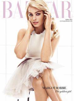 Margot Robbie for the April 2015 issue | Harper's Bazaar