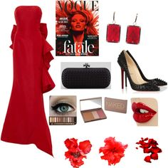 """""""Red is ..."""" by jheka on Polyvore Polyvore, Red, Image, Fashion, Moda, Fashion Styles, Fashion Illustrations"""