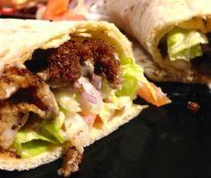 Kebab di seitan vegetariano