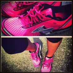 Down 15 pounds!!! :]  15 more and here is my reward.  Brooks running shoes pure codence.