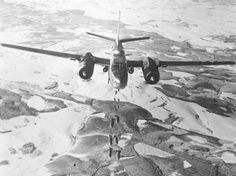 """The Douglas A-26 Invader required only two or three crewmembers and carried more ordnance than current bombers. The Douglas Invader's lethality was furthermore accented by the option of carrying 4,000 internally and 8,000lbs on external pylons, in the form of drop bombs or 8 to 14 x 5"""" rockets (the latter held externally on eight or fourteen underwing pylons - the full 16 rocket deployment was achievable in lieu of the drop tanks and wing mounted bombs).~ BFD"""
