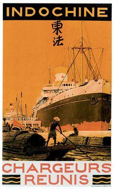 Vintage Travel Poster ~