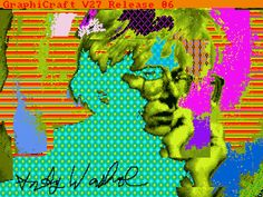 Andy Warhol's Digital Art Was Trapped on a Floppy Disk—Until Now.
