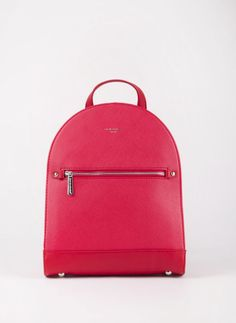 Backpack David Jones - Κόκκινο