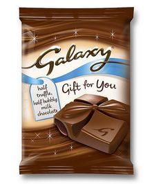 Galaxy Gift for You Christmas Chocolate