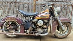 Sturgis Or Bust: 1951 Harley-Davidson Project - http://barnfinds.com/sturgis-or-bust-1951-harley-davidson-project/