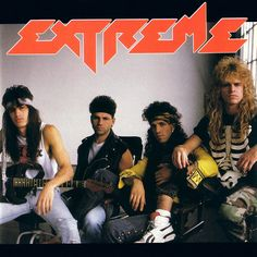 """Extreme, Extreme [4.09]: Looking at that album cover, there's really no way to guess that this is a pretty decent album from a pretty great band who would go on to produce two absolutely awesome albums, and this one is just shy of absolutely awesome. It's too bad that the band that gave us """"More Than Words"""" couldn't muster a truly decent power ballad on this one. I'm not a fan of """"Watching, Waiting"""" at all, and """"Rock a Bye Bye"""" is too cheesy for words. 12/4/17"""