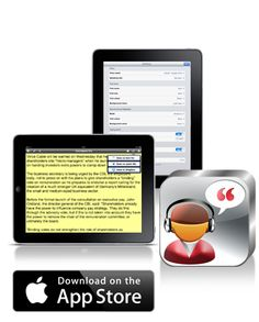 ClaroSpeak - Text To Speech - iPad App - From Claro Software
