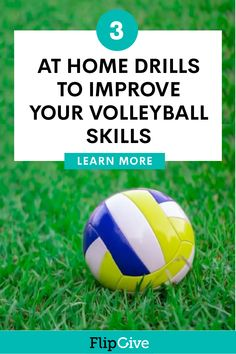 We don't always have access to the court. Keep your skills refined at home with these volleyball drills for passing, setting, and serving. Volleyball Serving Drills, Volleyball Drills For Beginners, Volleyball Serve, Volleyball Tryouts, Soccer Drills For Kids, Volleyball Skills, Volleyball Practice, Volleyball Training, Volleyball Quotes