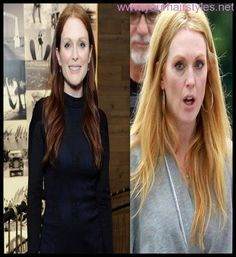 Trend Julianne Moore Ditches Her Signature Red Hair and Goes Blonde 2014