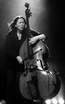 Joelle Leandre - The First Lady, fierce maiden of the double bass ...