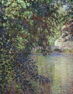 CLAUDE MONET — Watermill at Limetz, 1888 Claude Monet