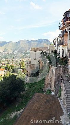 A look down from Monreale at Palermo