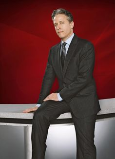 Jon Stewart - a comedian better at anchoring the news than actual news anchors.