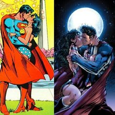 Now will Clark and Diana ever  get together, despite Lois, in the DC Cinematic Universe?