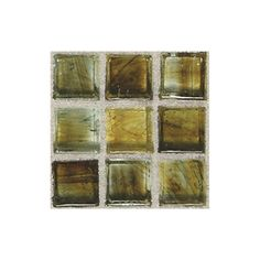 American Olean�Visionaire Gentle Earth Glass Mosaic Square Indoor/Outdoor Wall Tile (Common: 13-in x 13-in; Actual: 12.87-in x 12.87-in)