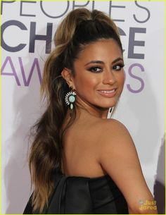Fifth Harmony Light Up The 2015 People's Choice Awards After Announcing Reflection Tour Ally Brooke, Fifth Harmony Members, Teen Choice Awards 2017, Unique Hairstyles, Hairline, Light Up, Hair Makeup, Hair Color, Celebrities
