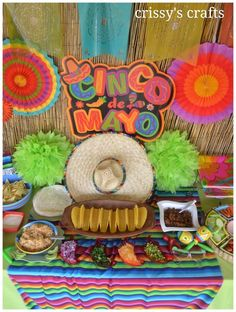 """Cinco de Mayo Celebration!  See more party ideas at <a href=""""http://CatchMyParty.com"""" rel=""""nofollow"""" target=""""_blank"""">CatchMyParty.com</a>!"""
