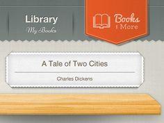 Library app / Dribbble