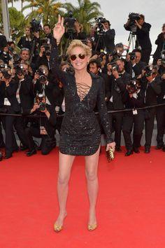 2014 - Sharon Stone in Emilio Pucci
