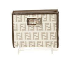 Authentic Fendi Logo Wallets   www.queenbeeofbeverlyhills.com