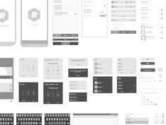 Android Vector Wireframing Toolkit by Michelle
