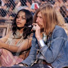Nik Turner from Hawkwind at the 1970 Isle of Wight Festival