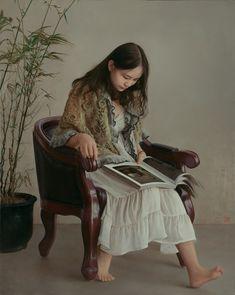 Chinesisches Mädchen, das in Toronto