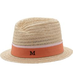 Virginie Straw Sunhat - Cream Maison Michel