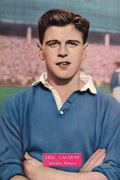 Eric Caldow of Rangers in 1958.