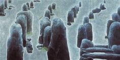 標-カルナック /  364 ×182cm (精彩展 2004~05)