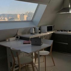 Dream Apartment, Seoul Apartment, Apartment Kitchen, Aesthetic Room Decor, Moving House, Home And Deco, Dream Rooms, House Rooms, Cozy House