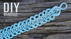 Amazing Macrame 3D Wave Bracelet Tutorial #macrame #bracelet #jewelrydesign #jewelrymaking #tutorial #weaving