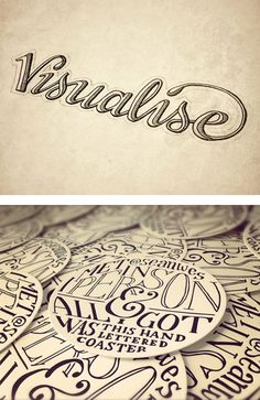 Hand Lettering by Sean McCabe