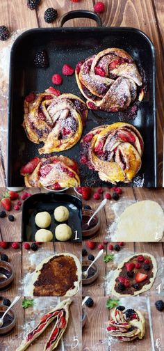 Egal who does not know: Hefekranz, Hefezopf or Hefekringel - all schmecken gu . Baking Recipes, Cake Recipes, Delicious Desserts, Yummy Food, Sweets Cake, No Bake Cake, Soul Food, Food Inspiration, Sweet Recipes
