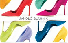 Shop Manolo Blahnik shoes at Neiman Marcus. Get a first look into what's next in fashion with these stark slide sandals and patterned pumps. Manolo Blahnik Shoes, Suede Pumps, Colorful Fashion, Neiman Marcus, Stiletto Heels, Fashion Shoes, Christian Louboutin, Stylish, Stuff To Buy