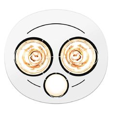 White Bathroom Heater find click 2 bulb white 3-in-1 bathroom heater at bunnings