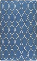 Fallon Collection Fallon FAL1011 Blue Contemporary Area Rug