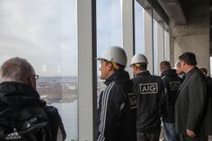 11.11.13   All Blacks Rugby Team Tour at 4WTC #See4Yourself