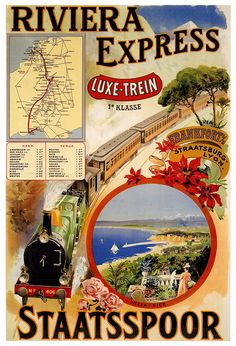 Riviera Express, 1901, anonymous | Flickr - Photo Sharing!
