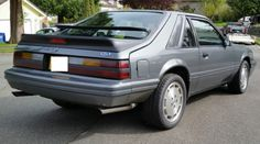 86k-Mile 1986 Ford Mustang SVO